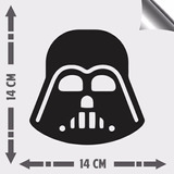 Adesivo Carro Parede Notebook Vidro Star Wars Darth Vader