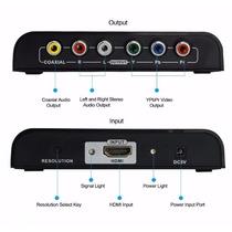 Conversor Adaptador Hdmi Para Video Componente Com Audio L R