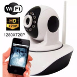Camera Ip P2p Robo Sem Fio Wifi Infra Noturna Wireless 720hd