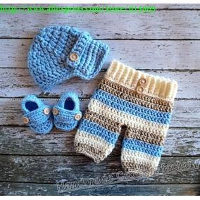 Conjuntos Tejios Crochet Ropa Vestidos Capullo Bebe