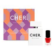 Set Perfume Mujer Cher Diecisiete 50 Ml Edp+esmalte De Uñas