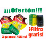 Aceite Multigrado 20w50 Beretta Roshfrans Mas Filtro Gratis