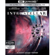 4k Ultra Hd + Blu-ray Interstellar / Interestelar