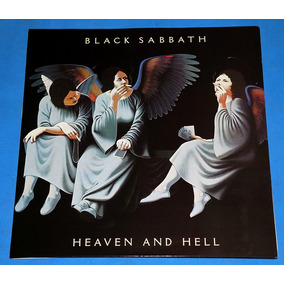 Black Sabbath - Heaven And Hell - Lp - 1980 Lacrado