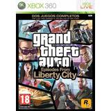 Grand Theft Auto Episode From Liberty City Xbox 360 Fisico