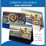100 Almanaques 2018 Calendarios Carpitas Volcables C/ Logo