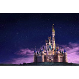Painel Decorativo Festa Infantil Castelo Disney (mod1)
