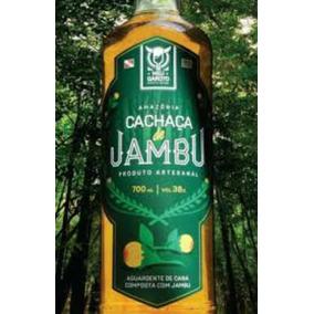 Cachaça De Jambu - 2 Garrafas De 700ml - Meu Garoto