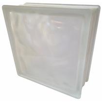 Bloco Tijolo Tijolinho De Vidro Branco Fosco