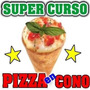 Fabrique Pizza En Cono Negocio Ideal!! Gana $$$ Muy Facil
