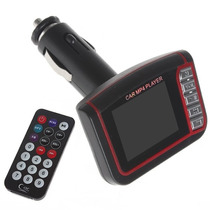 Transmisor Fm 5 En 1 Mp4 Carro De 4gb Con Control Usb Sd
