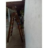 Oferta!! Escalera De Madera En Buen Estado, De 7 Escalones.