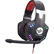 Auricular Gamer Stromberg Smith Ps4 Pc Microfono Luces Rgb