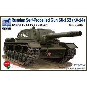 1/48 Tanque Russo Su-152 (kv-14) (prod. Em Abril De 1943)