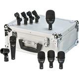 Set De Micrófonos Para Bateria 5 Pzs Audix Fp5