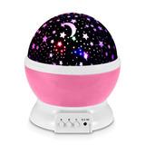 Redlemon Lámpara Proyector Estrellas Giratorias Niños Bebés