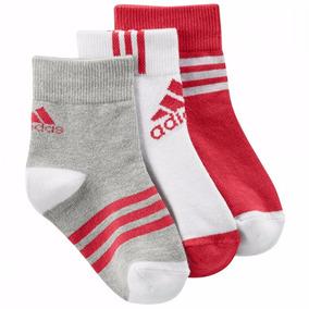 Tres Pares De Calcetas Ankle Bebe adidas Ay6535