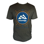 Camiseta Mountain Wear Cinza Mesclado / Cm01