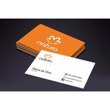 1000 Und. Cartão De Visita Natura (modelo 01)