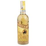 Tequila Mexicana El Charro Gold 750ml + 1 Vaso Jaibolero