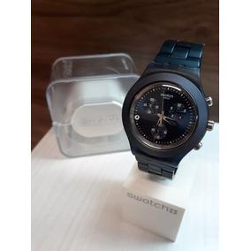 ce8ac7b2c5a Relogio Swatch Azul Escuro Original - Joias e Relógios no Mercado ...