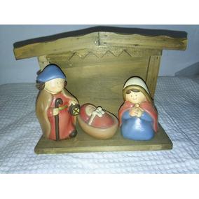 185683b7f6d Figuras En Madera Para Interiores - Adornos Navideños en Mercado ...