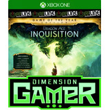 Dragon Age Inquisition - Xbox One - No Codigo - Off-line