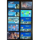Lote 151 Tarjetas Movistar Movicom Miniphone Unifon Y Otras