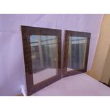 Espelhos(2 Pçs)decorativos P/parede - Moldura Alto Relevo 2