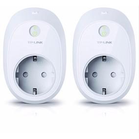 2 Tomadas Tp-link Wi-fi Smart Plug Hs110 Aciona Via Internet