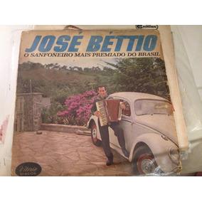 José Béttio O Sanfoneiro Mais Premiado Do Brasil Vinil Lp