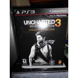 Ps3 Uncharted 3 Drake`s Dece Collectors Edition Semicompleta