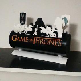 Luminária Abajur Led Pvc Game Of Thrones