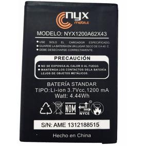 Batería Pila Nyx Noba 1200mah Nyx Mobile Nueva Nyx1200a62x43