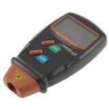 Tacômetro Digital Óptico Laser Medidor De Rotação Rpm
