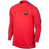 Buzo Nike 1/2 Cierre Barcelona Fc Squad Futbol