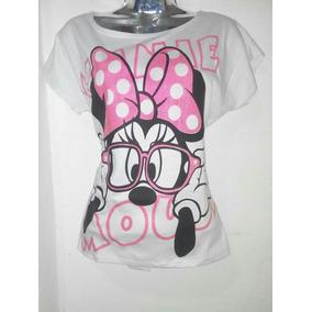 Camisa Y Camisetas De Minnie Mouse Para Damas Niñas Mujeres
