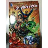 Liga Da Justiça Origem Batman Super Man Capa Dura Jim Lee