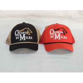 08e0f3da6ad66 Quarto De Milha Femea - Bonés Masculinos no Mercado Livre Brasil