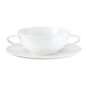 Taza Para Sopa C/plato Atable Marca Asa 2220507