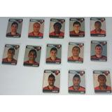 Lote Com 13 Figurinhas Flamengo Campeonato Brasileiro 2011