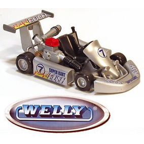 Autitos De Coleccion Welly Go Kart Karting De Carrera