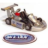 Autitos De Coleccion Welly Go Kart Karting De Carrera