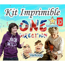 Kit Imprimible One Direction + Candy Bar Fiesta