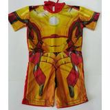 Fantasia Infantil Homem De Ferro H. Aranha Capitão América