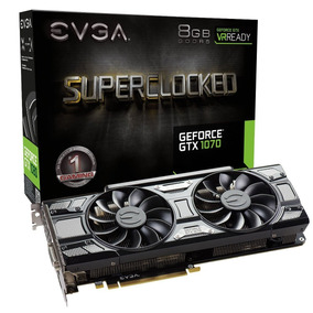 Evga Geforce Gtx 1070 Sc Gaming Acx 3.0 Black Edition, 8gb G