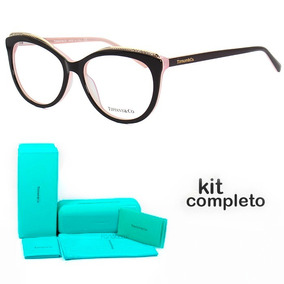 def60ed9480be Armacao Oculos Gatinho Marrom - Óculos Armações no Mercado Livre Brasil