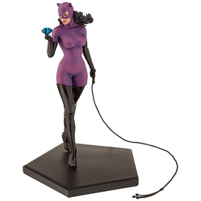 Ironstudios 1/10 Catwoman Dc Comics Pintado A Mano Estatua