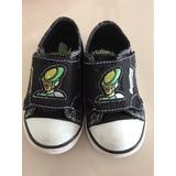 Zapatillas Nene Con Luces Impecable Estado Ben10 Talle 22
