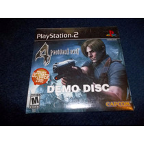 Resident Evil 4 Demo Disc Playstation 2 Original Nuevo Raro
